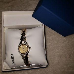 Seiko diamond watch/bracelet